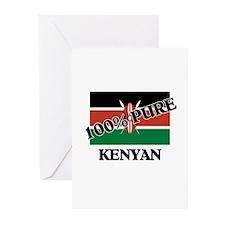 100 Percent KENYAN Greeting Cards (Pk of 10)