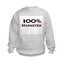100 Percent Marketer Sweatshirt