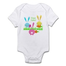 Easter Rabbits Infant Bodysuit