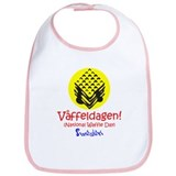Swedish National Waffle Day Bib
