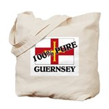 100 Percent GUERNSEY Tote Bag
