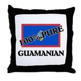 100 Percent GUAMANIAN Throw Pillow