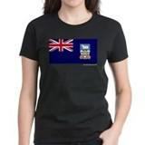 Falkland Islands Flag on a Tee