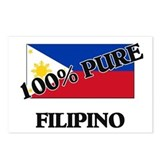 100 Percent FILIPINO Postcards (Package of 8)