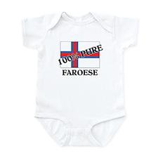 100 Percent FAROESE Infant Bodysuit