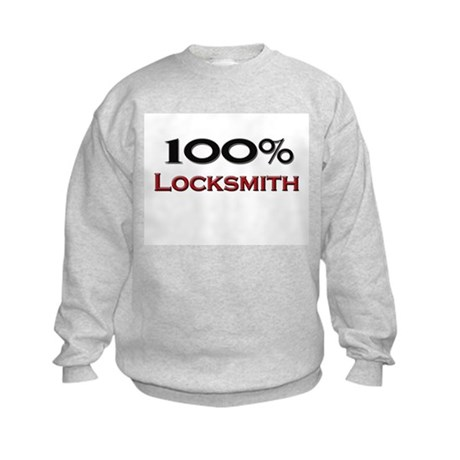 100 Percent Locksmith Kids Sweatshirt