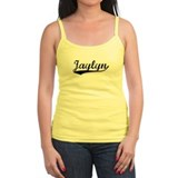 Vintage Jaylyn (Black) Ladies Top