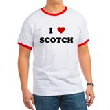 "Harm City ""I Love (heart) Scotch"" T"