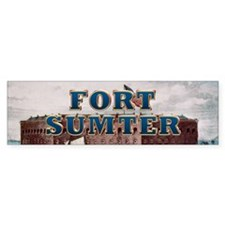 ABH Fort Sumter Bumper Sticker