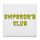 Gold Emperors Club Tile Coaster