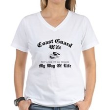 USCG Wife: It's an Honor Shirt