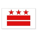 3 Stars 2 Bars Sticker (Rectangle 10 pk)
