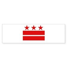 3 Stars 2 Bars Bumper Sticker