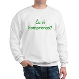 Do you understand? Sweatshirt