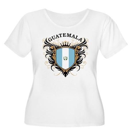 Guatemala Women's Plus Size Scoop Neck T-Shirt