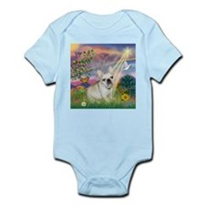 Cloud Angel & French Bulldog Infant Bodysuit