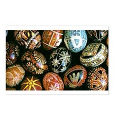 Easter Egg Postcards (Package of 8)