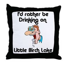 450 I'd Rather be Drinking Throw Pillow