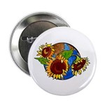 "Sunflower Planet 2.25"" Button (10 pack)"