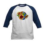 Sunflower Planet Kids Baseball Jersey
