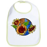 Sunflower Planet Bib