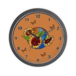 Sunflower Planet Wall Clock