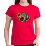 Sunflower Planet Women's Dark T-Shirt