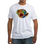 Sunflower Planet Fitted T-Shirt
