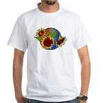 Sunflower Planet White T-Shirt