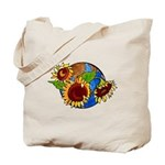 Sunflower Planet Tote Bag