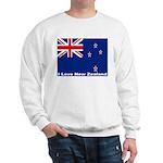 I Love New Zealand Sweatshirt
