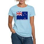 I Love New Zealand Women's Light T-Shirt