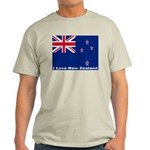 I Love New Zealand Light T-Shirt