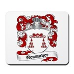Neumayer Family Crest Mousepad