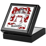 Neumayer Family Crest Keepsake Box