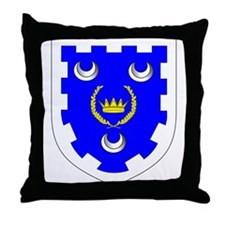 King of Caid Throne Pillow