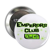 "Emperors Club Client 9 2.25"" Button (100 pack"