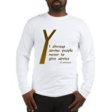 Wodehouse Advice Long Sleeve T-Shirt