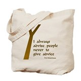 Wodehouse Advice Tote Bag