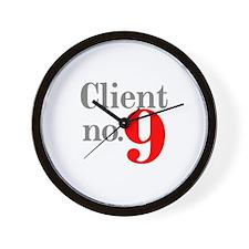Client 9 Wall Clock