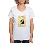 Bill and Bull Women's V-Neck T-Shirt