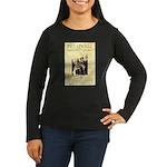 Bill and Bull Women's Long Sleeve Dark T-Shirt