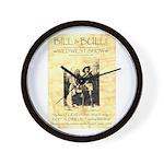 Bill and Bull Wall Clock