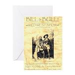 Bill and Bull Greeting Card