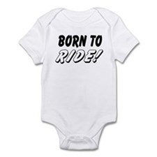 Baby biker Bodysuit - born to ride!