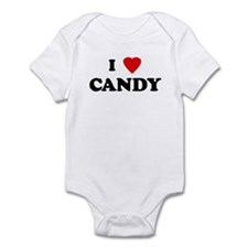 I Love CANDY Infant Bodysuit