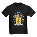Heberlein Family Crest Kids Dark T-Shirt