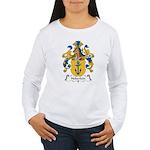 Heberlein Family Crest Women's Long Sleeve T-Shirt