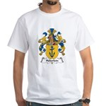 Heberlein Family Crest White T-Shirt