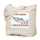 salmon stalker Tote Bag
